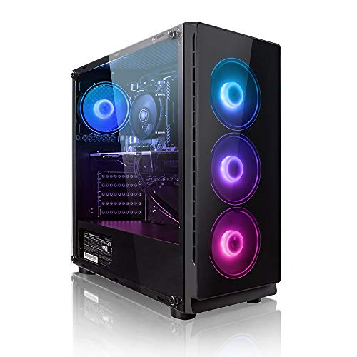 Megaport PC Gamer Chaser AMD Ryzen 5 2600X 6X 3,60 GHz • GeForce GTX1660 6Go • 16Go DDR4 • 240Go SSD • 1To • Windows 10…