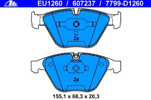 ATE 13.0460-7237.2 Bremsbelagsatz Scheibenbremse