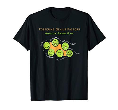 Abacus Brain Gym, Abacus Math, Soroban, Brain Gym T-shirt