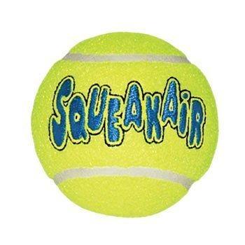 Kong Company DKO77521 Air Dog Squeaker Ball, Medium (2 PACK)