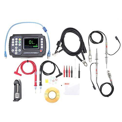 (Walfront 3 in 1 Digital Oscilloscope Kit, ADO102 2CH Handheld Digital General&Automotive USB Oscilloscope Digital Multimmeter AC100-240V(US)
