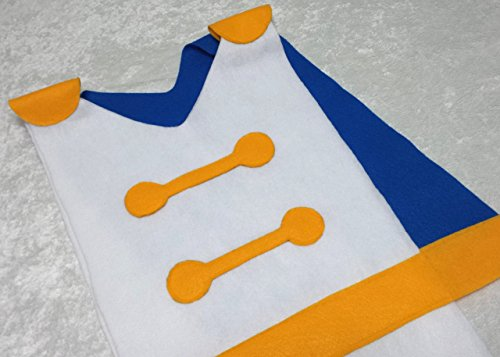 Prince Eric Costume Tunic (Little Mermaid / Ariel) - Baby / Toddler / Kids / Teen / Adult Sizes ()
