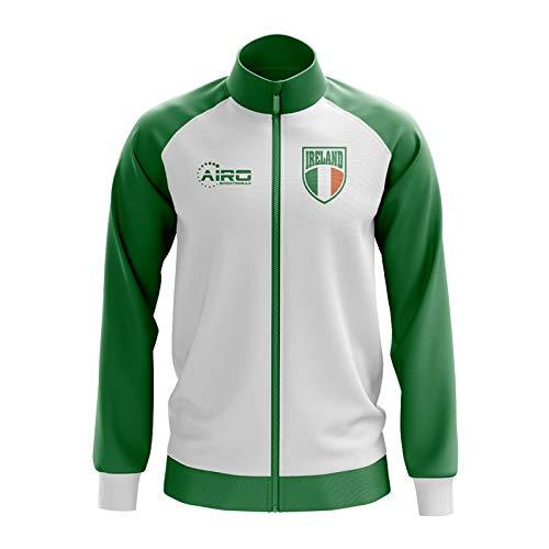 Airo Sportswear Ireland Concept Football Track Jacket (White)