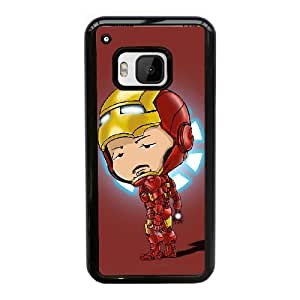 Generic hard plastic Iron Man Cell Phone Case for HTC One M9 Black ABC8354595