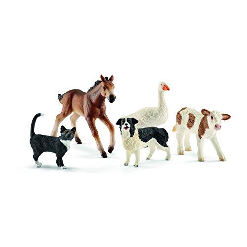 Schleich Assorted Farm World Animals Action Figures (Barn Big Farm)