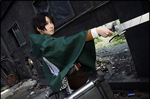 TopOneer Anime Attack On Titan AOT Shingeki No Kyojin Cosplay Cloak Cape Costume Merch Outfit Halloween Women Men Adult Kid