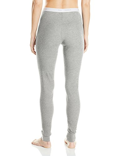 Hanes Women's X-Temp Thermal Underwear Bottoms, Heather Grey, Small by Hanes (Image #2)