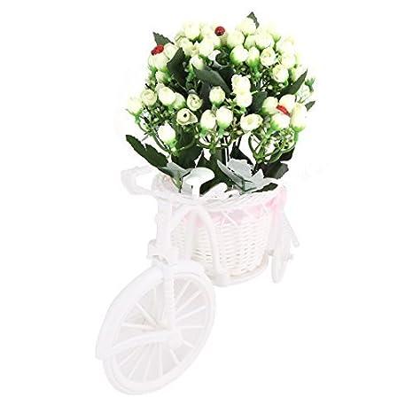 eDealMax Plantas de boda Tela de DIY Regalo de la artesanía del ornamento de las Flores