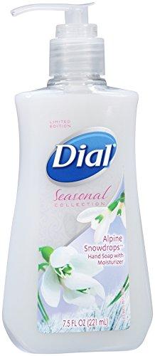 Dial Liquid Hand Soap, Alpine Snowdrops, 7.5 Ounce
