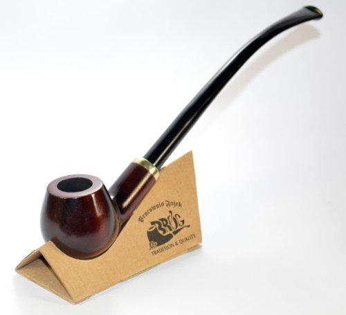 Tobacco Smoke Pipe - Churchwarden No 14 - High Quality From the Root of...