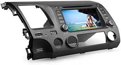 7 Pulgadas De Auto Reproductor de DVD para Honda Civic 2006 – 2011 (GPS, Bluetooth, TV): Amazon.es: Electrónica