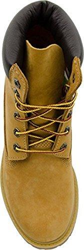 Timberland Womens 6 Premium Internal Wedge Boots Wheat Nubuck
