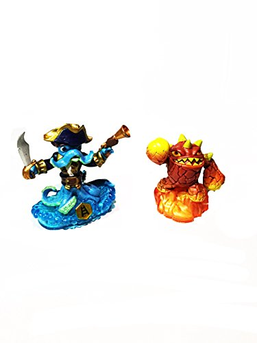 Skylanders Trap Team: Eruptor and Wash Buckler - Imaginators - WiiU - PS3 - PS4 - XBox 360 - XBox One -