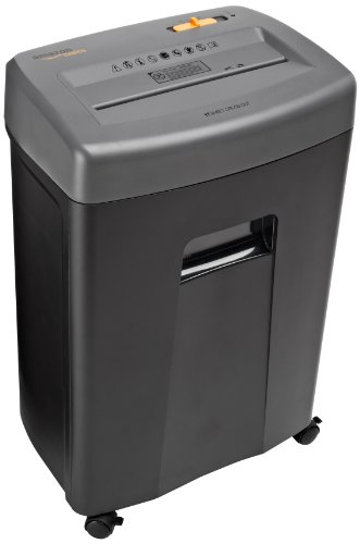 AmazonBasics 17 Sheet Cross Cut Shredder Pullout