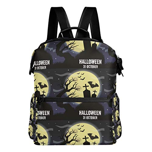 Humphy Albe Happy Halloween Poster Banner Vector Image backpack Work/Business/Travel/school -