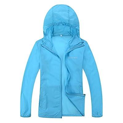 Woman Lightweight Water Repellent Skin Coat CHAREX Sun Protection Outdoor Jacket