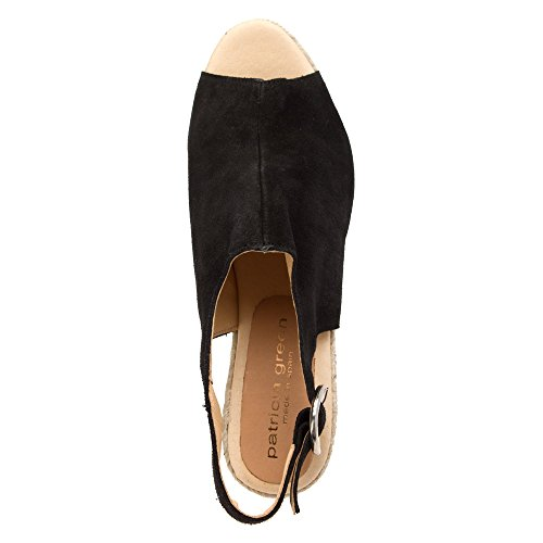 Patricia Green Womens Belle Sandals Black TXnLLBWlv