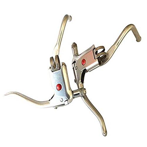 Triathlon Brake Levers - SENQI Bike Brake Lever Fit Bull Horn Style Bar 22.2mm RED EYES