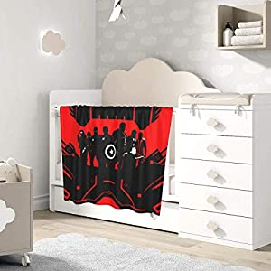 AOOEDM Baby Blanket Avenger Movie Toddler Kids Blanket Super Soft Baby Blankets Cozy Crib Lightweight Comforter…