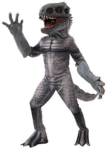 Indominus Costume Rex The (Jurassic World Indominus Rex Creature Reacher Deluxe Oversized Mask and)