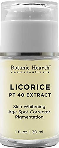 Licorice Extract Skin Brightening Serum - Skin Whitening and Dark Spot Formula - Radiance and Even Complexion Face -1 fl. oz. from Botanic Hearth