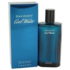 Cool Water Cologne by Davidoff, 4.2 oz Eau De Toilette Spray for Men