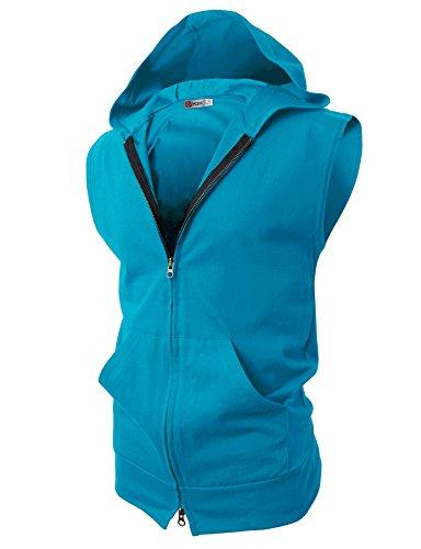 H2H Fashion Lightweight Sleeveless Hoodies product image