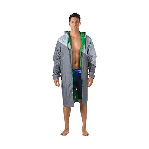 Speedo Unisex Color Block Parka Jacket, Large , Green by Speedo
