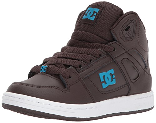 DC Shoes Youth Rebound Skate Shoe, Brown, 1.5 M US Little Kid by DC (Image #1)