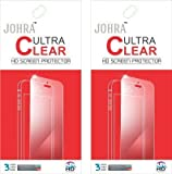 Johra Pack of 2 Clear HD Screen Scratch Protector For Nextbit Robin