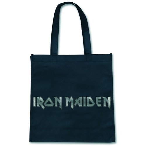 Nera Borsa Logo Shopping Iron Tote Bag Maiden Eco n7qFPx7wCr