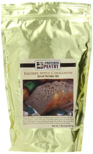The Prepared Pantry Bread Machine Mix, Knobby Apple Cinnamon Gourmet, 20 Ounce