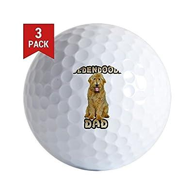 CafePress - Goldendoodle Dad - Golf Balls (3-Pack), Unique Printed Golf Balls