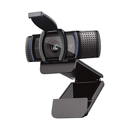chollos oferta descuentos barato Logitech C920s HD Pro Webcam Full HD 1080p 30fps Video Llamadas Audio Nítido Corrección de Iluminación Automática Tapa de Privacidad Skype Zoom FaceTime Hangouts PC Mac Portátil Tablet XBox