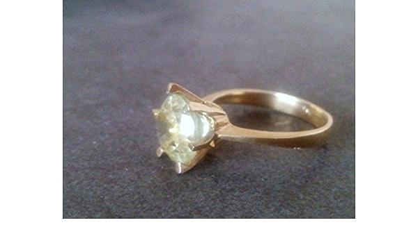 cocktail ring Lemon quartz ring dress ring statement ring