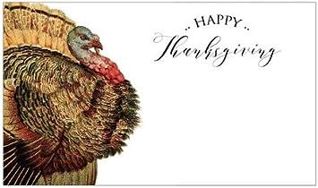 indigo Juego de 24 Tarjetas de Agradecimiento, decoración de Mesa de Acción de Gracias, decoración de Mesa de Acción de Gracias, Pavo: Amazon.es: Hogar