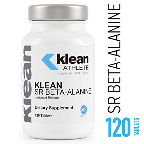 Klean Athlete - Klean SR Beta-Alanine (Sustained Release) - Delays Fatigue, Supports Muscle Endurance* - 120 Tablets