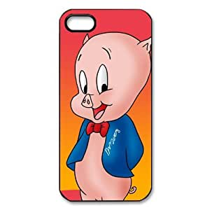 Porky Pig Custom Printed Design Durable Case Cover for Iphone 5 5S