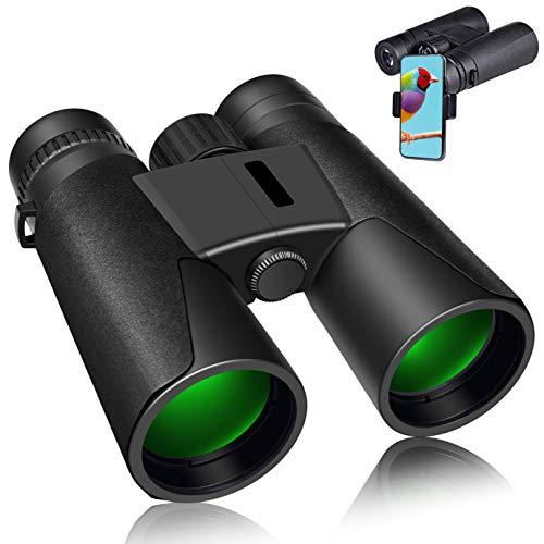 🥇 12×42 Binoculars for Adults Compact Sharp Vision Binocular