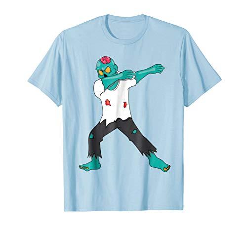 Dabbing Zombie T-Shirt - Dab Dance Fun Halloween -