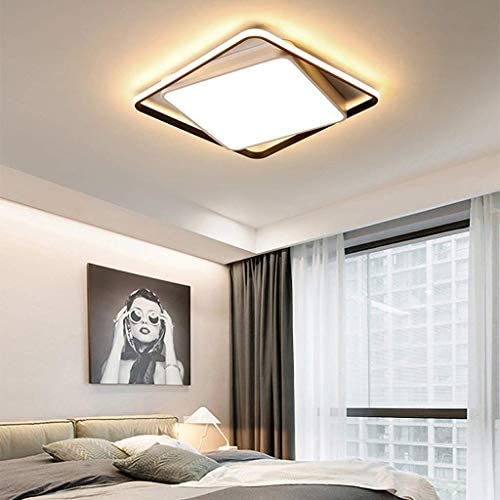 L.TSA Ceiling Lights LED Ceiling Lamp Living Room Lamp Simple Modern Atmosphere Bedroom Lamp Warm Romantic Creative Room Lamp