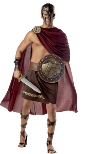 California Costumes Spartan Warrior Costume Size: Brown