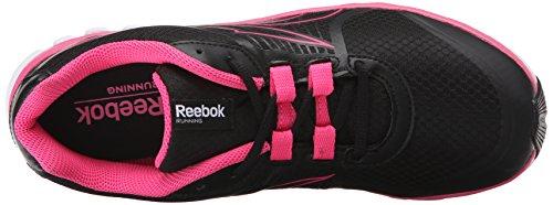 Reebok Womens Scarpa Da Corsa Super Speed duo Nero / Colore Rosa Solare / Bianco