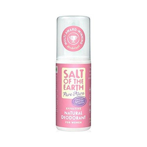 Salt Of The Earth Pure Aura Lavender & Vanilla Natural Deodorant Spray 100Ml