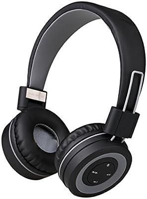 7becc658d00 Reetec V4.0 - Auriculares de diadema con micrófono y control de volumen,  plegables, Bluetooth, inalámbricos, estéreo, para iPhone, iPad, portátiles,  ...