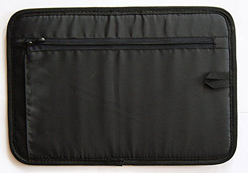 New Upgraded Travel Electronics Organizer, A Portable Case For Carrying Cords, Cables, Gadgets and Small Accessories, Black, 12 X 8 Inch for Laptop Bag
