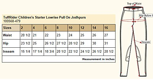6a6f2987e21 Amazon.com   TuffRider Children s Starter Lowrise Pull-On Jods ...
