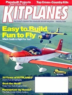 Kitplanes: Amazon com: Magazines