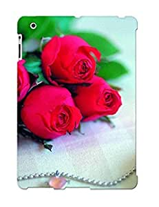 For Ipad Case, High Quality Rose For Ipad 2/3/4 Cover Cases / Nice Case For Lovers