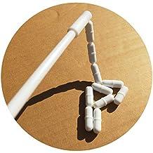 (Set of 11 PCS) 1 Inch Magnetic Stirrer Stir Bars + Magnetic Retriever